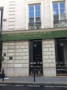 The oh-so-chic Buly storefront in St. Germain