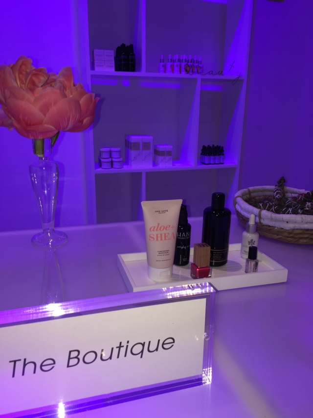 The ANFGB Boutique with its specially-curated products